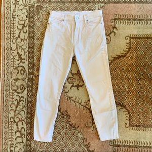 Like NEW Loft White Jeans